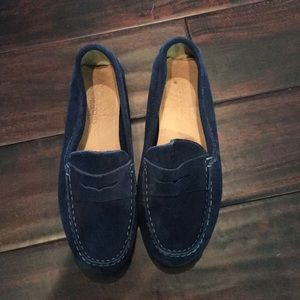 Crewcuts boy's blue loafers!